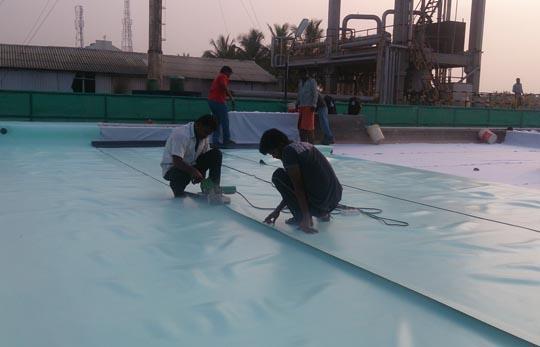 PVG Membrance Waterproofing